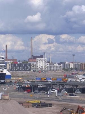 Finnland, Hafen, Helsinki