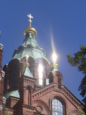 Finnland, Helsinki, Kirche