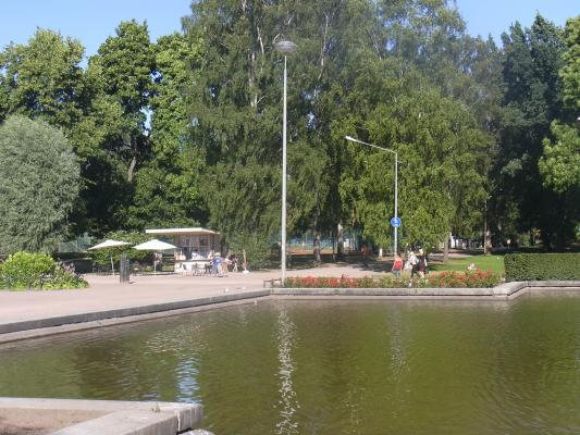 Finnland, Helsinki, Park