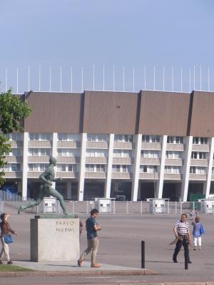 Finnland, Helsinki, Stadion