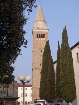 Kirche, Koper, Slowenien