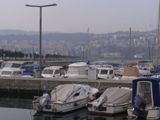 Hafen, Koper, Slowenien