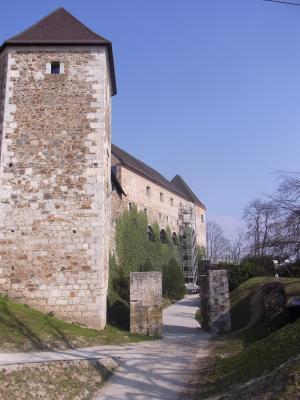 Burg, Ljubljana, Slowenien