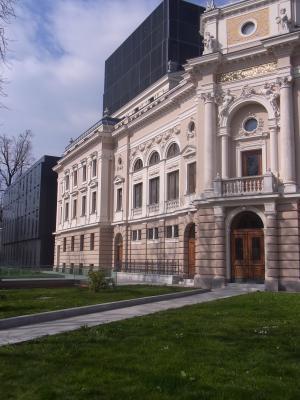 Ljubljana, Oper, Slowenien