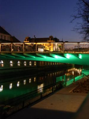 Brücke, Ljubljana, Slowenien