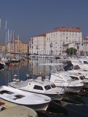 Hafen, Piran, Slowenien