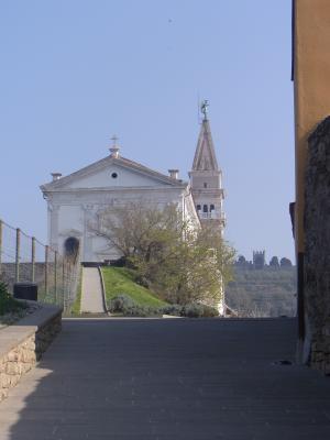 Kathedrale, Piran, Slowenien