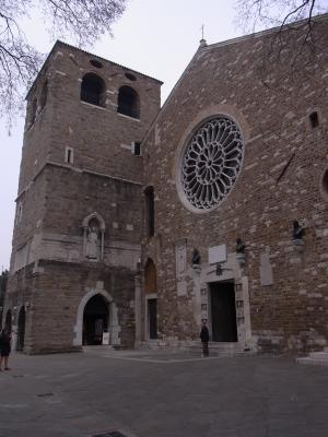 Italien, Kathedrale, Triest
