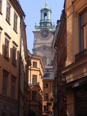 Gamla Stan, Kirche, Schweden, Stockholm