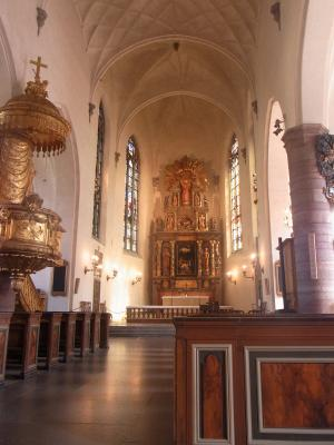 Kirche, Norrmalm, Schweden, Stockholm
