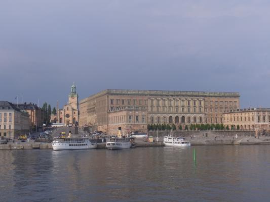 Gamla Stan, Kirche, Schloss, Schweden, Stockholm