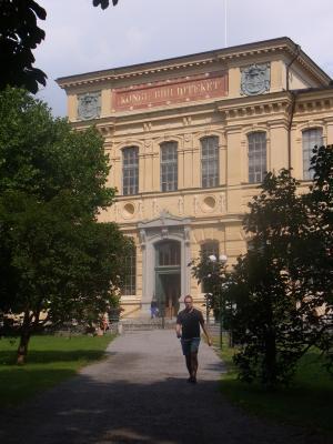 Bibliothek, Norrmalm, Schweden, Stockholm