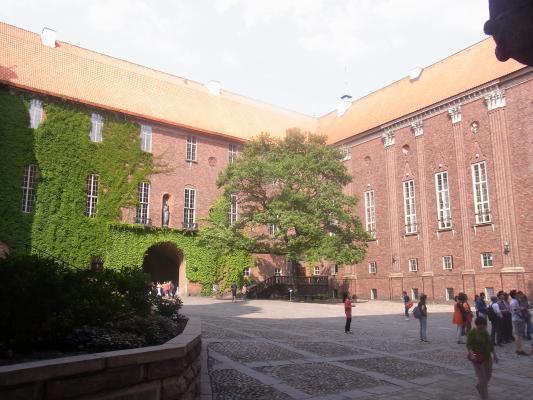 Kungsholmen, Schweden, Stadthalle, Stockholm