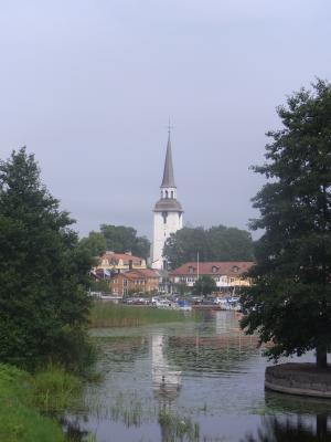 Kirche, Mariefred, Schweden