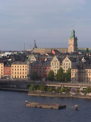 Ausblick, Gamla Stan, Schweden, Stockholm