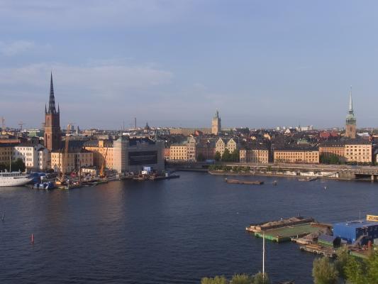 Ausblick, Gamla Stan, Riddarholmen, Schweden, Stockholm