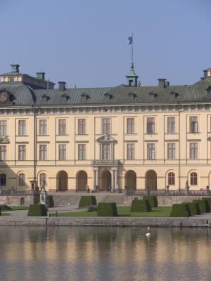 Drottningholm, Schloss, Schweden, Stockholm