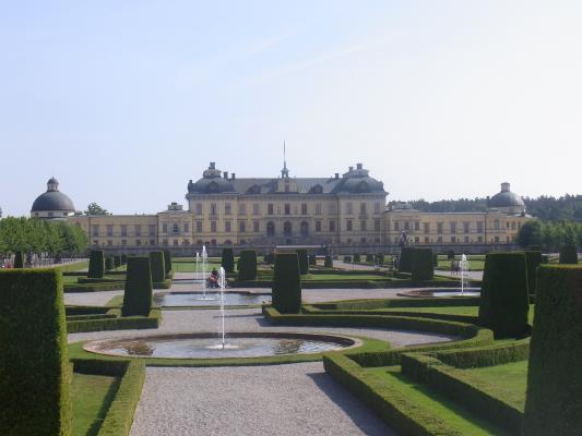 Drottningholm, Park, Schloss, Schweden, Stockholm