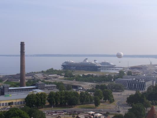 Ausblick, Estland, Hafen, Tallinn