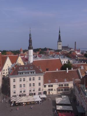 Ausblick, Estland, Kirche, Tallinn