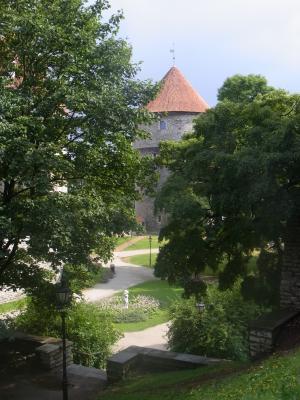 Estland, Stadtmauer, Tallinn