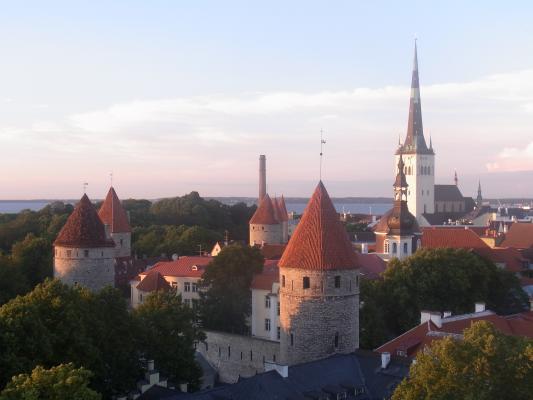 Ausblick, Estland, Tallinn