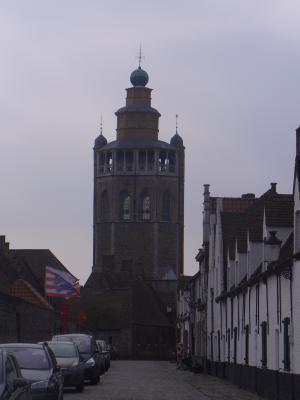 Belgien, Brügge, Kirche