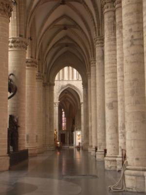 Belgien, Brüssel, Kathedrale