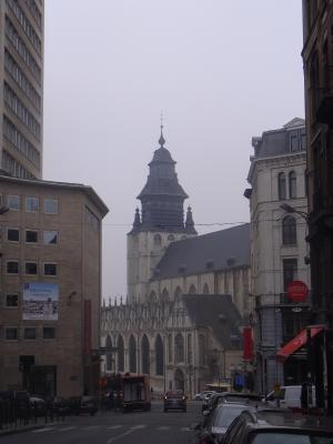Belgien, Brüssel, Kirche