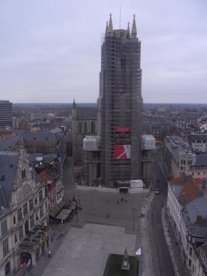 Ausblick, Belgien, Gent, Kathedrale