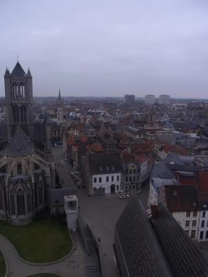 Ausblick, Belgien, Gent