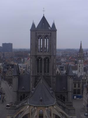 Ausblick, Belgien, Gent, Kirche