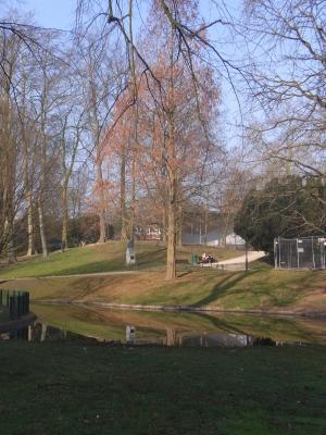 Belgien, Leuven, Park