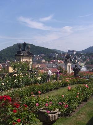 Decin, Garten, Schloss, Tschechien