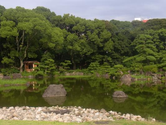 Japan, Osaka, Park