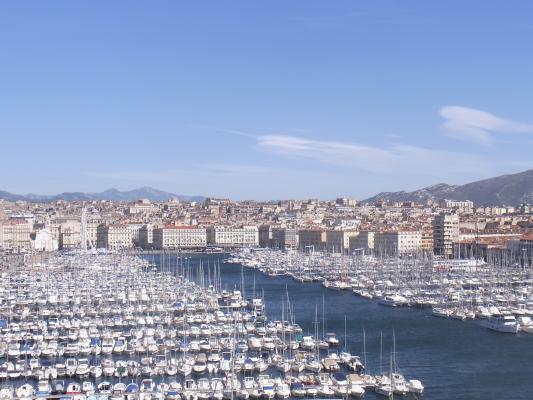 Frankreich, Hafen, Marseille, Provence