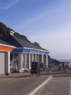 Caswell Bay, Großbritannien, Wales, Wales Coast Path