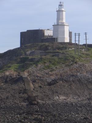 Großbritannien, Leuchtturm, Mumbles, Wales