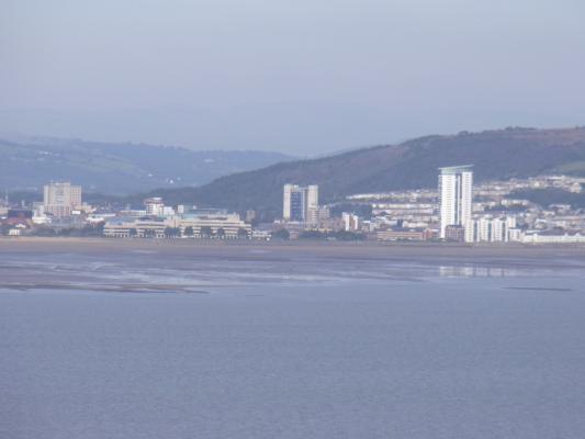 Ausblick, Großbritannien, Mumbles, Wales