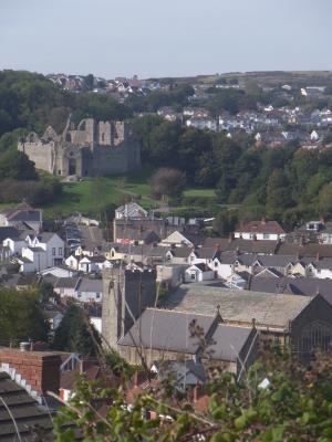Burg, Großbritannien, Mumbles, Wales