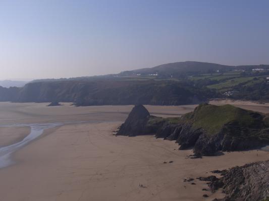 Großbritannien, Pennard, Wales, Wales Coast Path