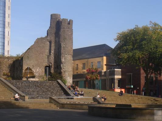 Burg, Großbritannien, Swansea, Wales