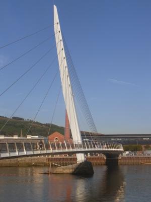 Brücke, Großbritannien, Swansea, Wales