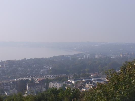 Ausblick, Großbritannien, Swansea, Wales