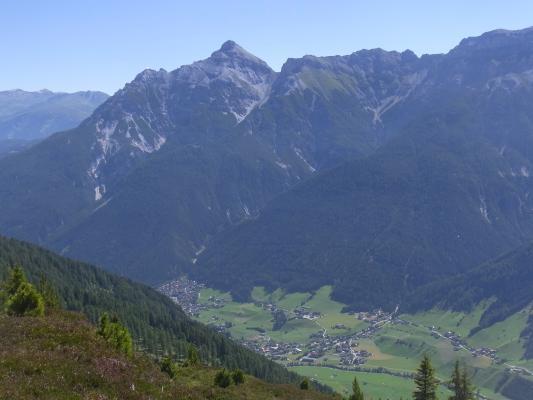 Alpen, Aufstieg Starkenburger Hütte, Stubai-Tal, Österreich