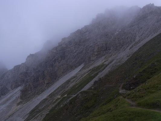 Alpen, Starkenburger Hütte-Franz Senn Hütte, Stubai-Tal, Österreich