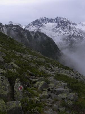 Alpen, Stubai-Tal, Österreich
