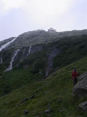 Alpen, Neue Regensburger Hütte - Dresdner Hütte, Stubai-Tal, Österreich