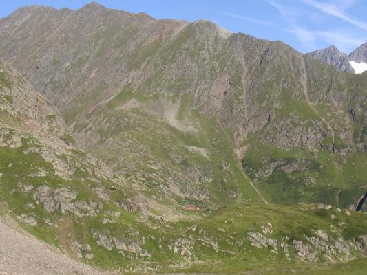 Alpen, Stubai-Tal, Sulzenau-Hütte - Bremer Hütte, Österreich