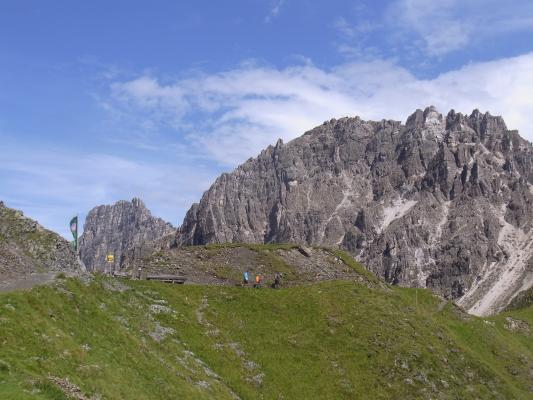 Alpen, Bremer Hütte - Innsbrucker Hütte, Stubai-Tal, Österreich